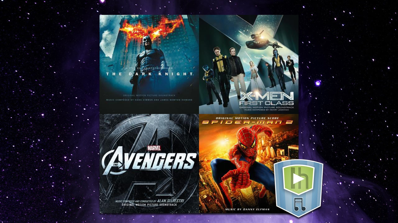 The Superhero Soundtrack Playlist