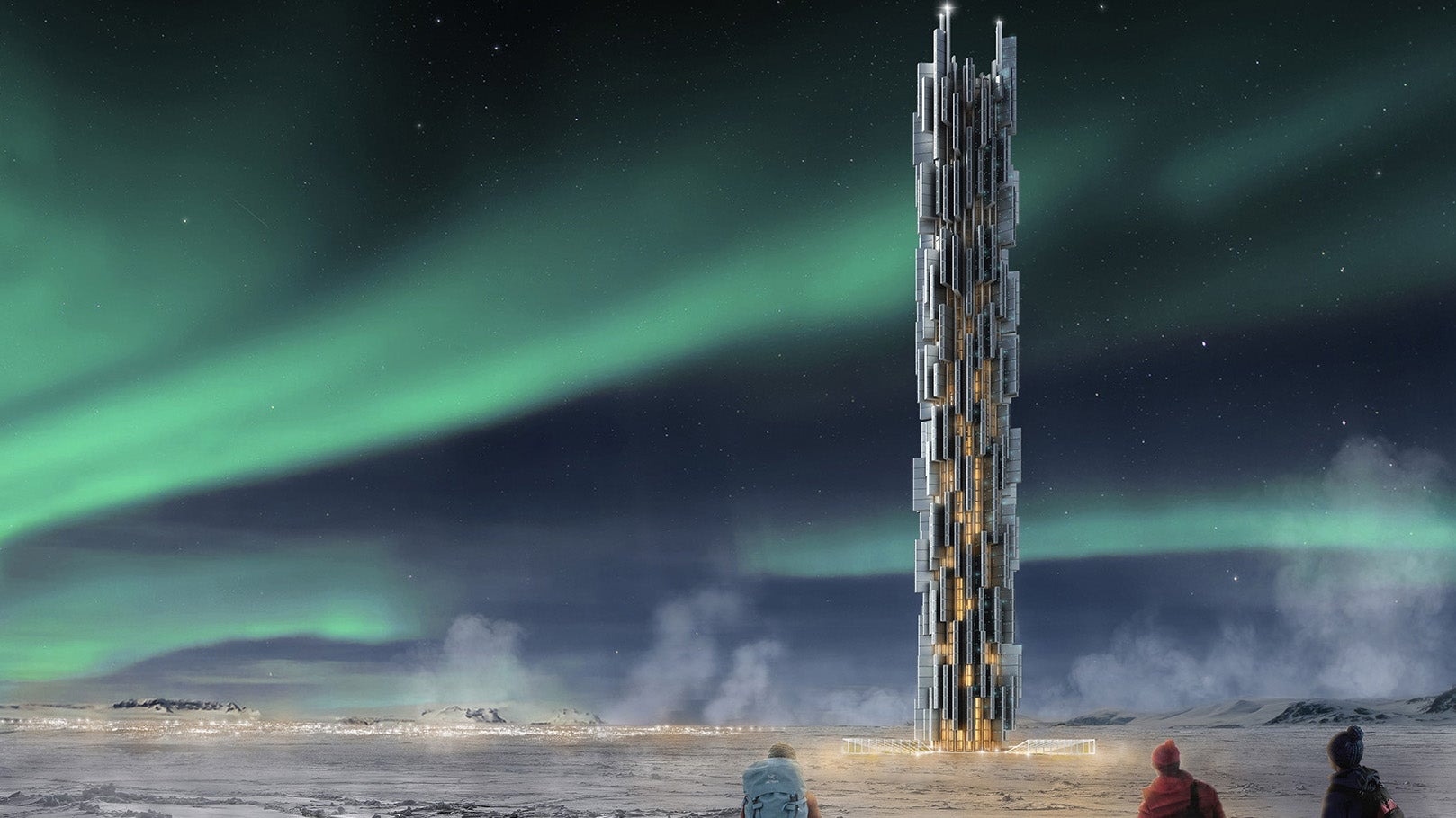 Data Centres Of The Future Could Be Towering Skyscrapers