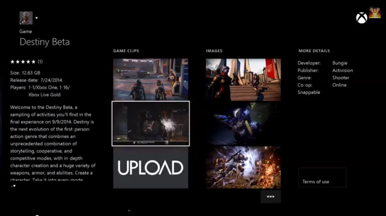 Leaked Video Shows What Destiny Looks Like on Xbox One