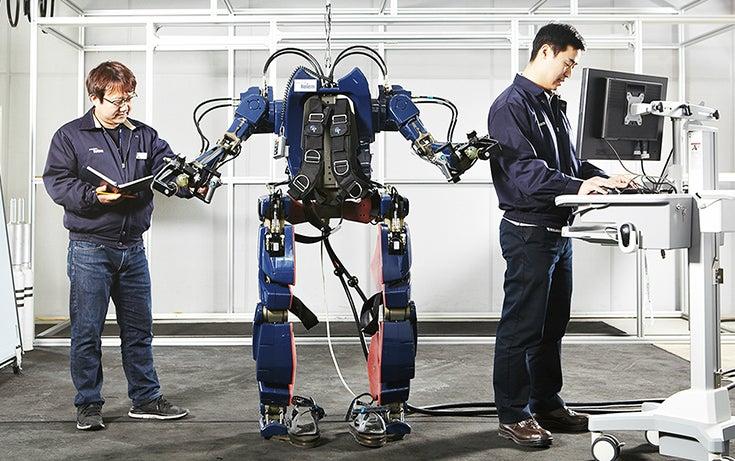 Hyundai's New Transportation Exoskeleton: Less Iron Man, More Aliens