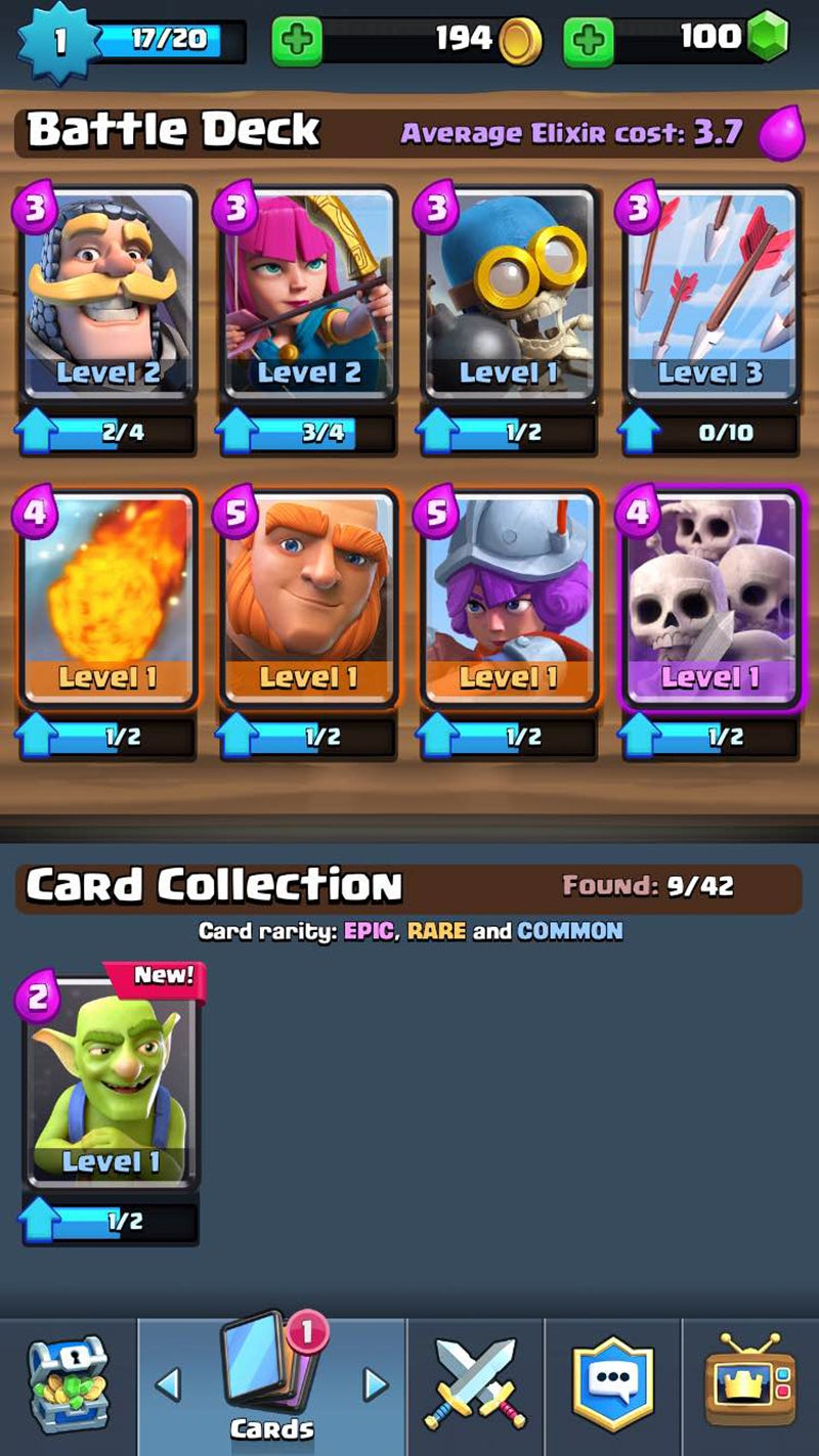 Clash Of Clans Spin-off Clash Royale Would Like To Sell You All The Cards