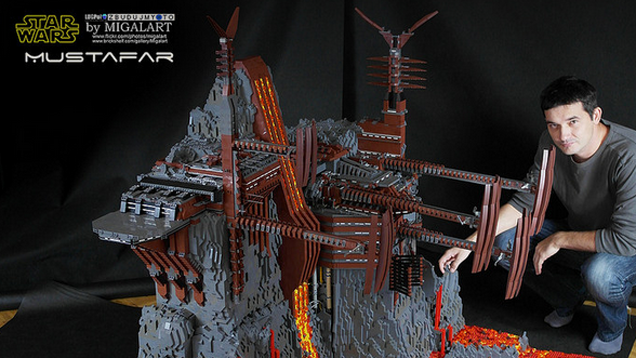LEGO Star Wars Build Is a Huge 60,000-Piece Work of Art