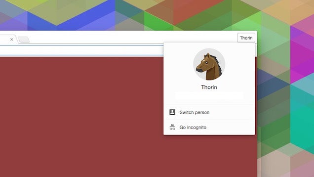 How to Disable Chrome's New User Menu