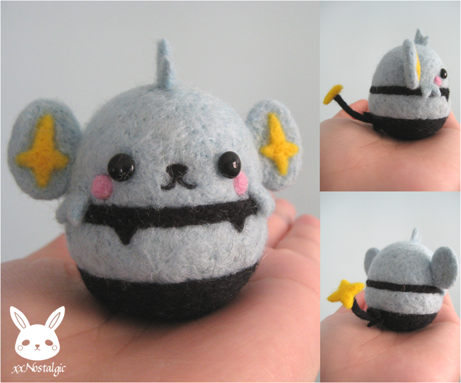 Tiny Felt Pokémon Contain Weaponised Levels of Cute