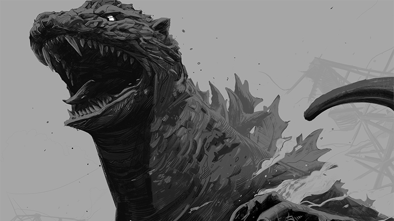 Get A Load Of The Glorious Kaiju Art Stomping Into Mondo's New Godzilla Gallery