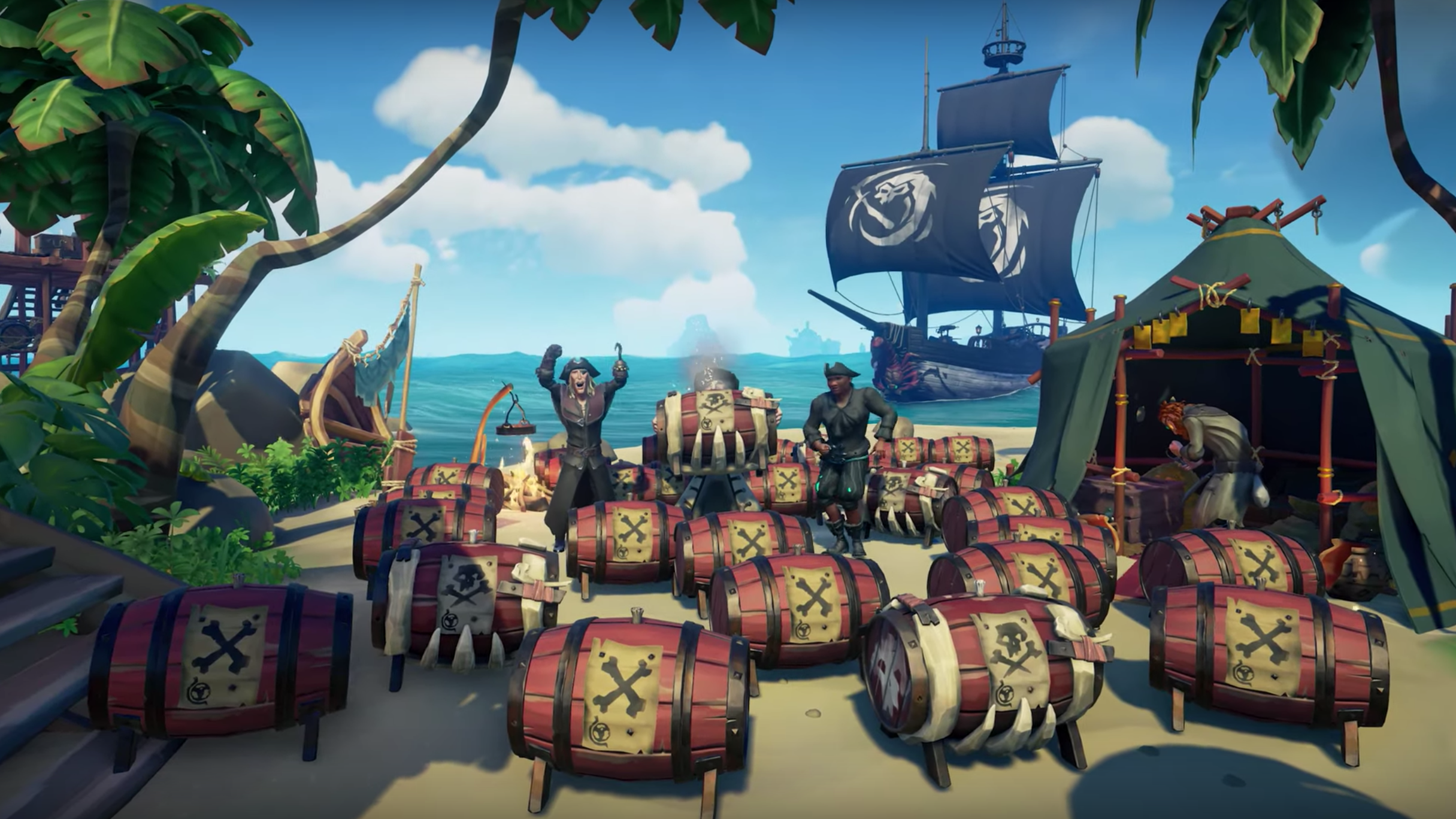 Sea Of Thieves Gets Monthly Updates And The First One Is Pretty… Explosive