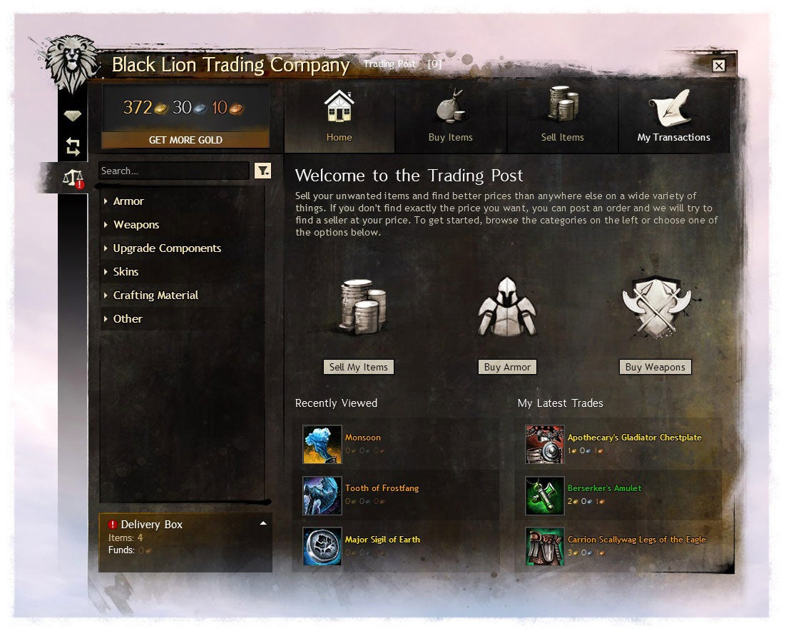 They're Finally Fixing Guild Wars 2's Clunky Auction House