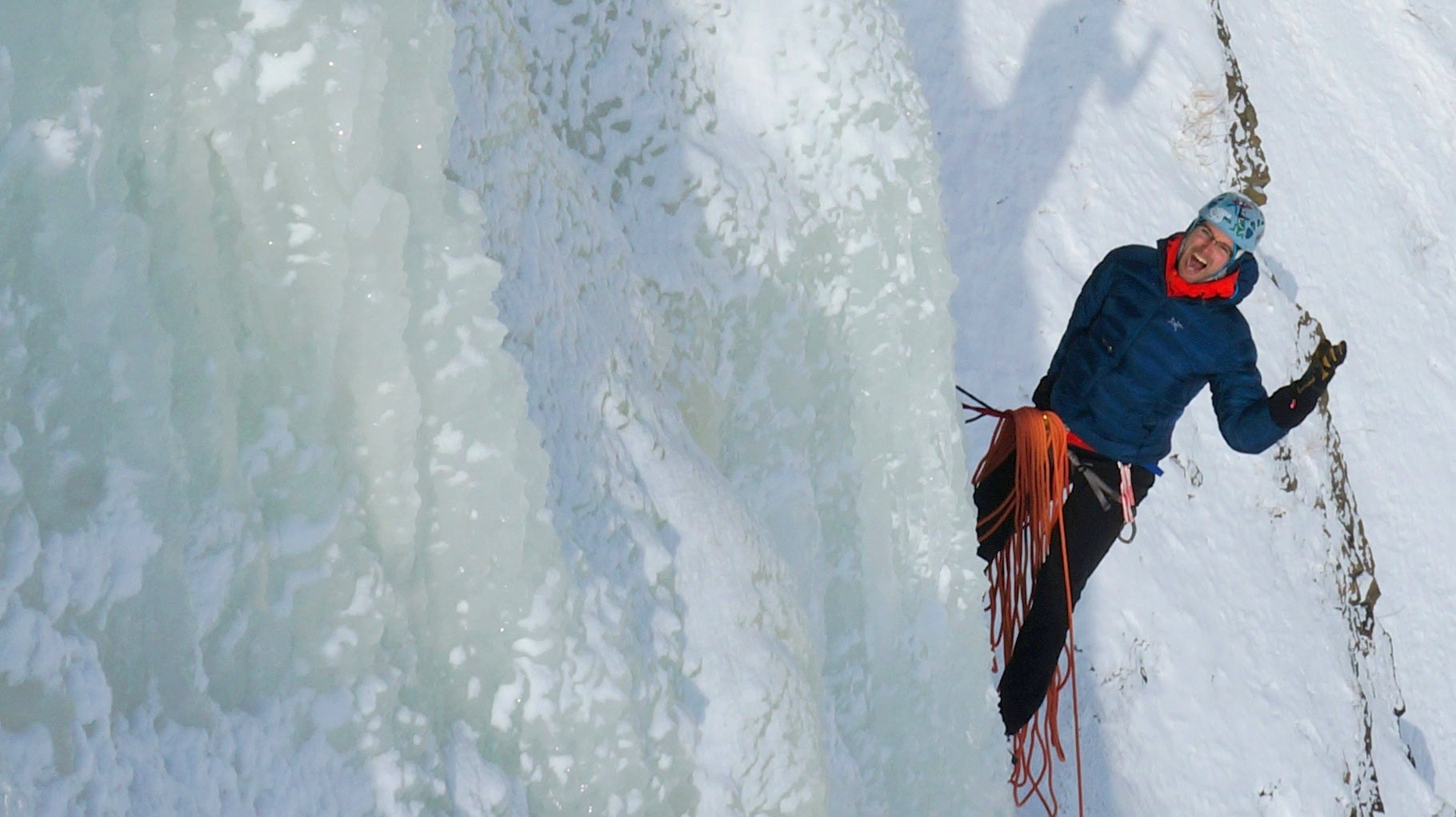 Climbing Quebec's Frozen Waterfalls