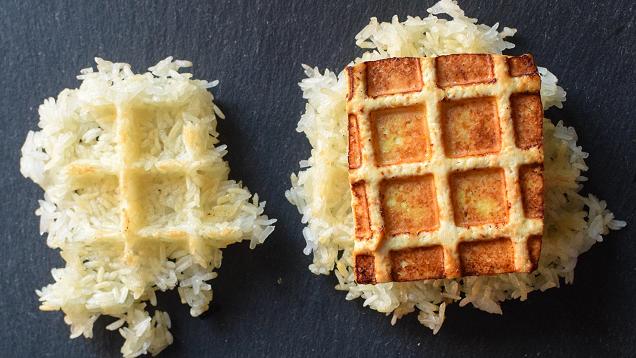 Make Perfectly Crispy Tofu with a Waffle Iron