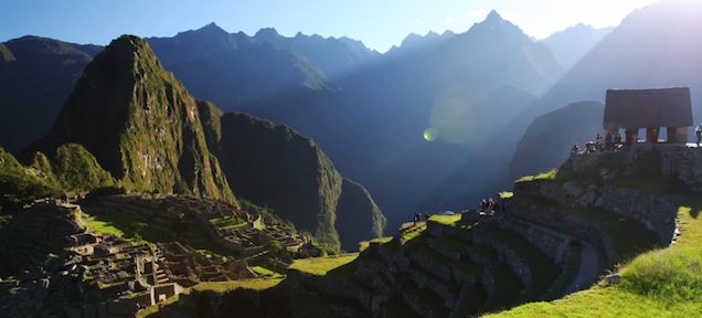 Video shows life in Machu Picchu in beautiful 4K detail