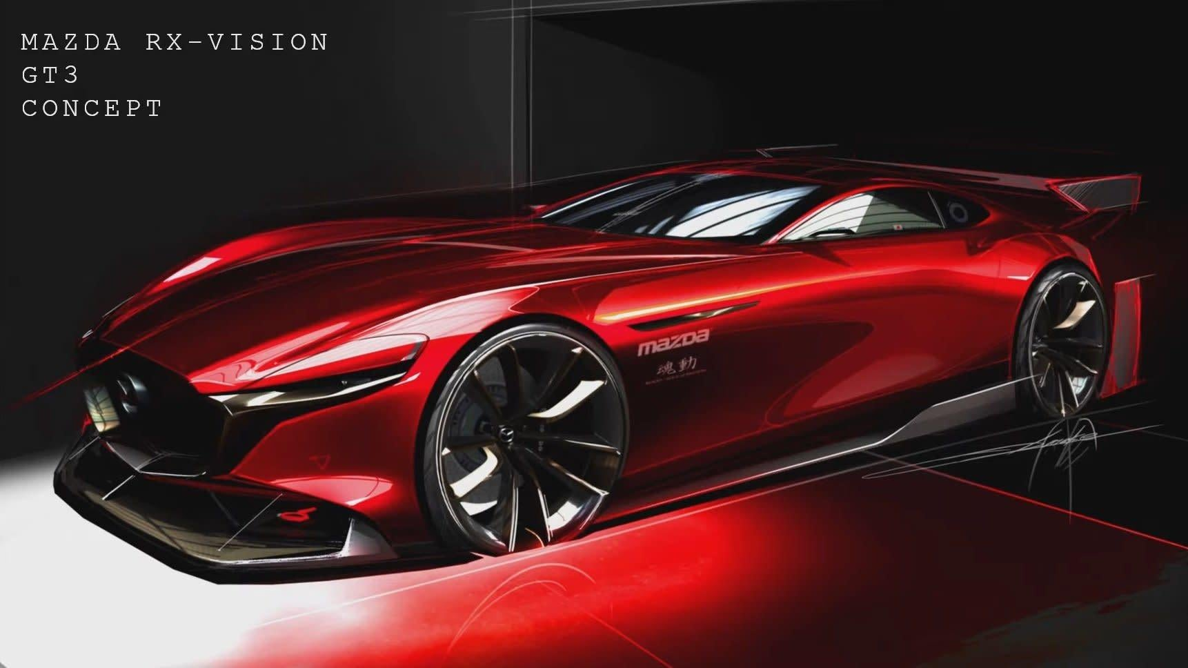Stop Teasing And Give Us The RX-Vision GT3 Already, Mazda