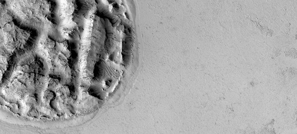 What Is This Strangely Circular Outcrop on Mars?