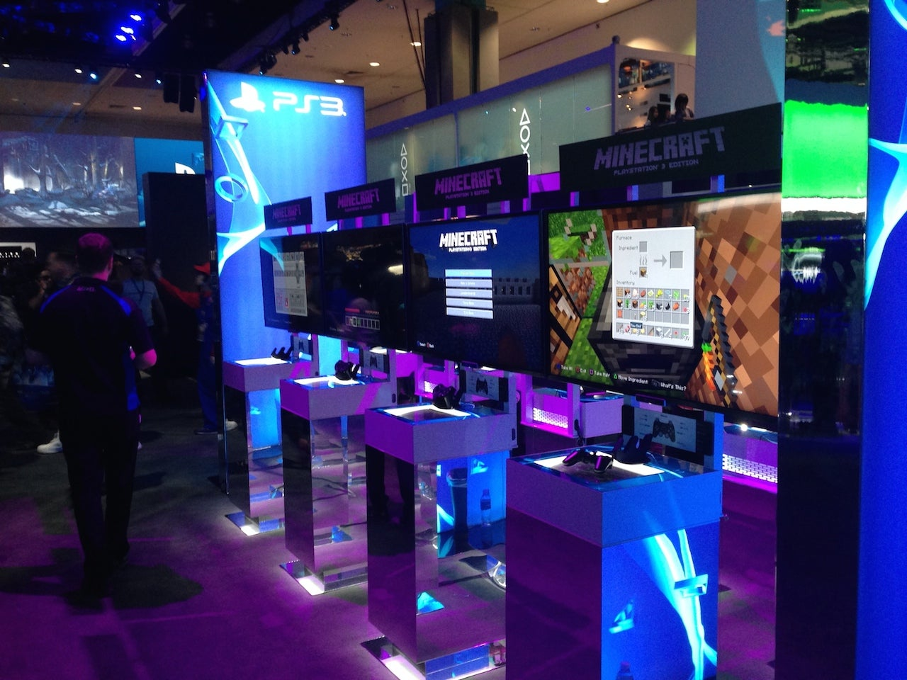 The Loneliest Game At Sony's E3 Booth