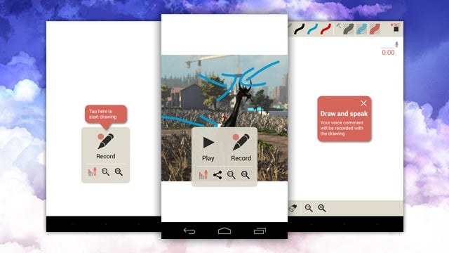 Clarisketch Quickly Annotes and Shares Images with Audio Narration
