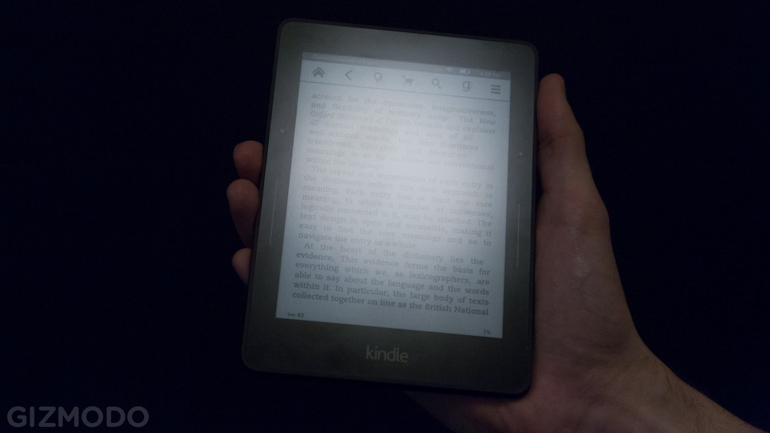 Just How Much Better Is Amazon's Kindle Voyage Screen?