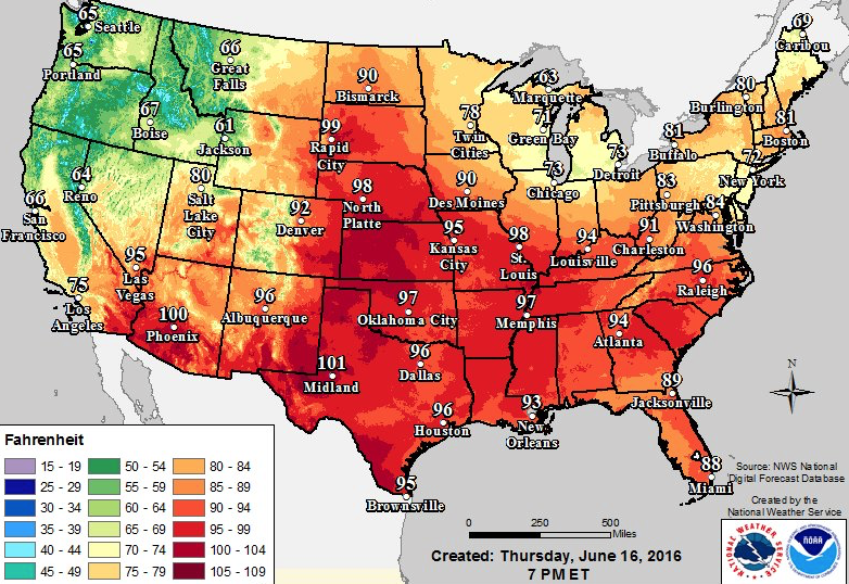 A Massive Heat Dome Will Smash Records Across The US This Weekend