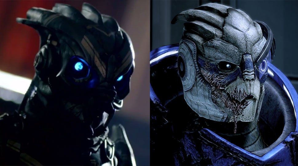 Some Folks Think A Doctor Who Character Looks Very Mass Effect
