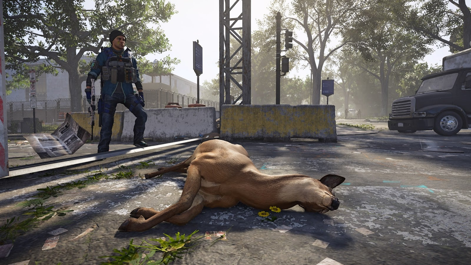 Should A Dead Deer In The Division 2 Drop Meat?
