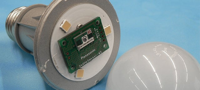 Radar-Enabled Light Bulbs Automatically Detect When the Elderly Fall