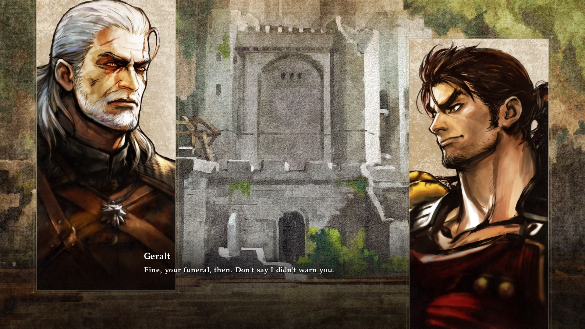 Soulcalibur 6's Story Mode Does Geralt Dirty