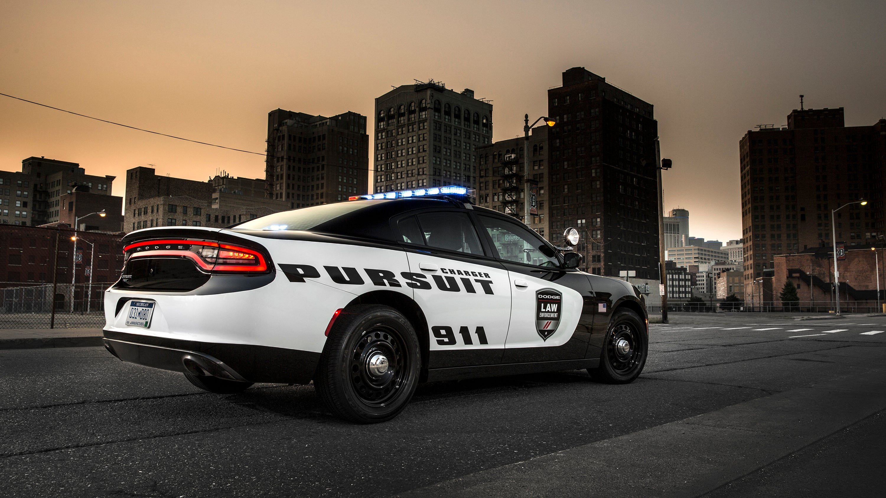 Dodge Is Giving Its New Police Cruiser Some Very RoboCop Upgrades