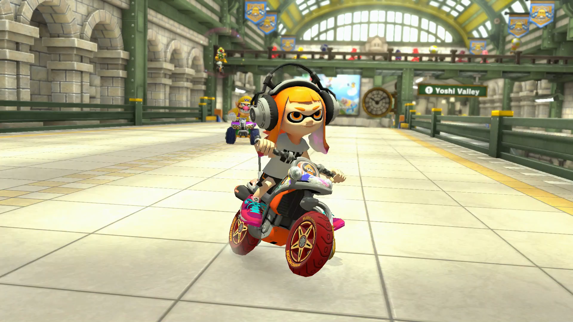 Mario Kart 8's Splatoon Inklings Must Be Protected At All Costs
