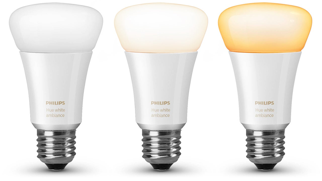 You Can Tweak the Warmth of Philips' New White Hue Bulbs To Help You Fall Asleep