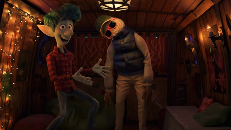 The New Trailer For Pixar's Onward Is Filled With Suburban Fantasy, And Half A Dad?