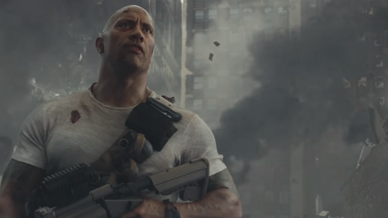 Weirdly, The Rampage Director's Problem With The Game's Story Wasn't That It Barely Existed