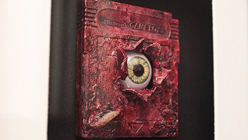 That's One Gruesome Game Boy Cartridge