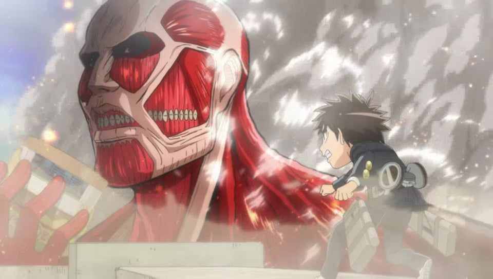 If Attack on Titan Took Place in a Middle School