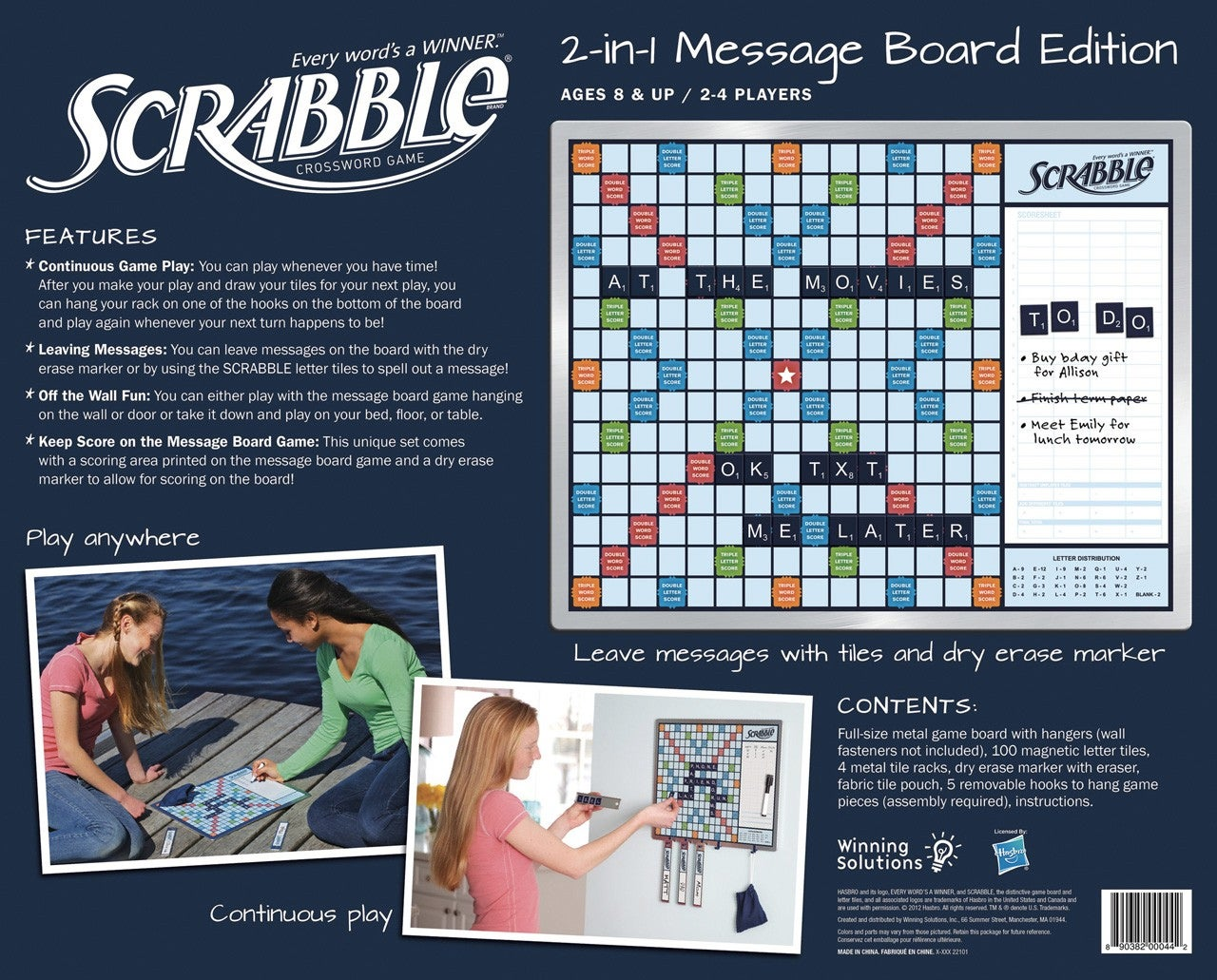 Message Board Scrabble Lets Everyone Play Whenever They Have Time