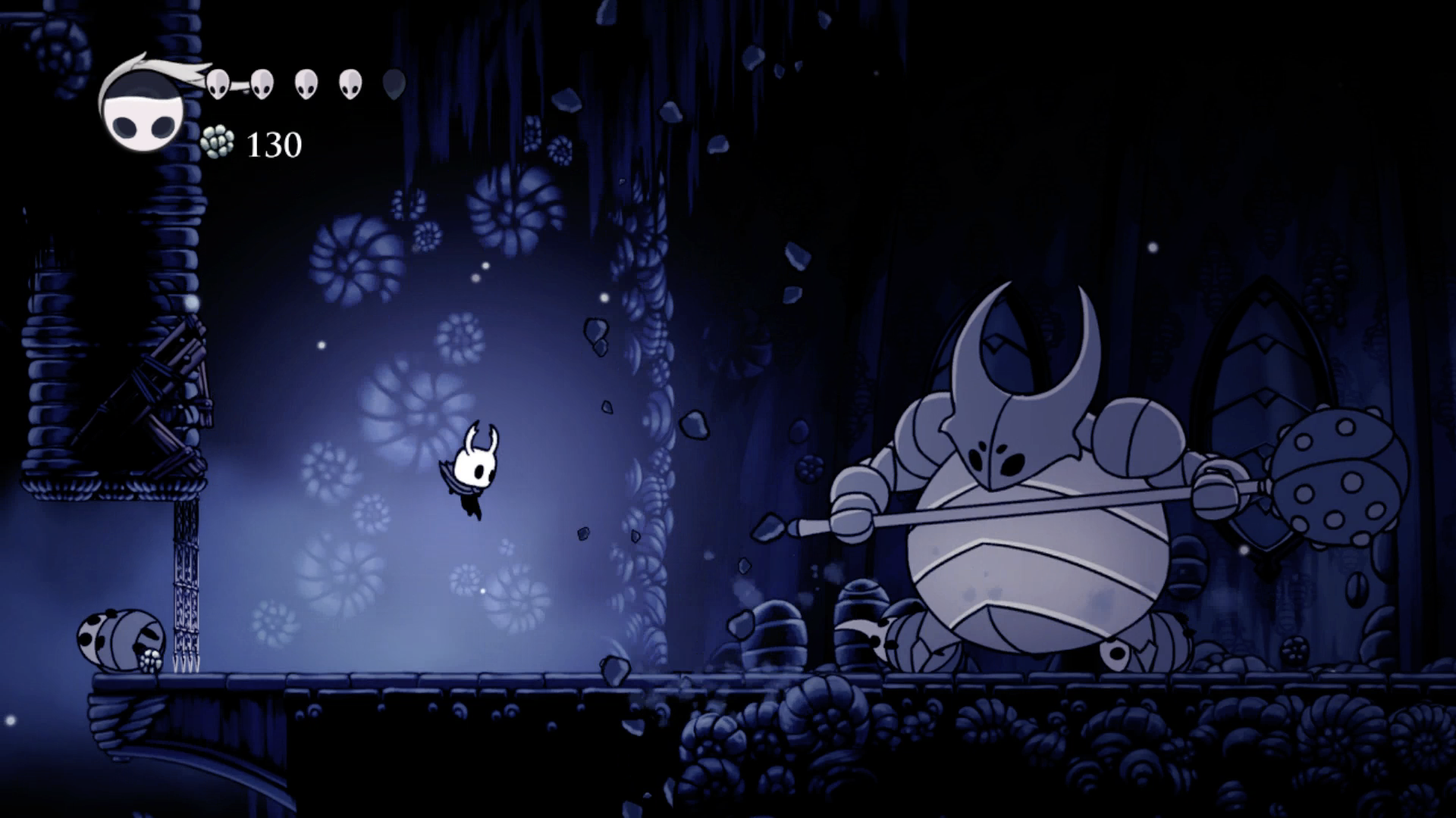 Image result for hollow knight boss fight picture