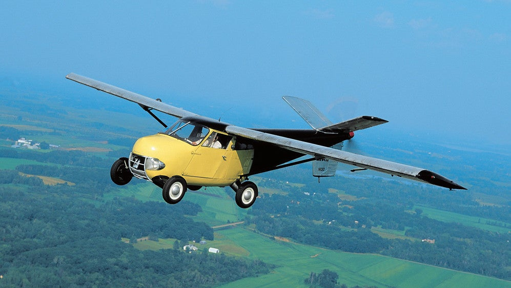 Google Billionaire Beaten To Market By This Gorgeous 65-Year-Old Flying Car