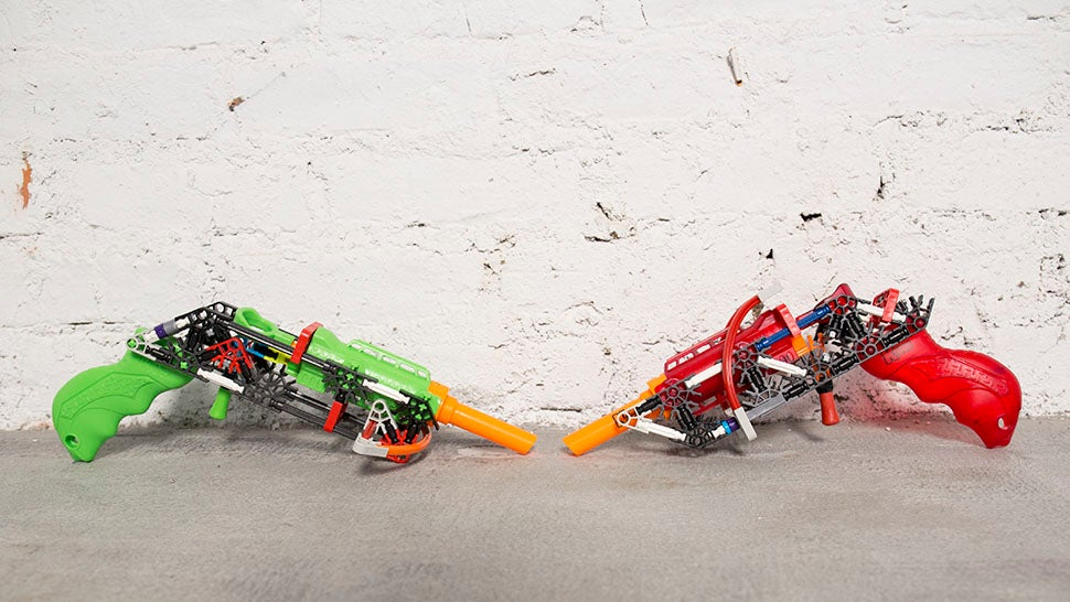 These Customisable Dart Guns Are Better Than Nerf Guns and Lego Combined