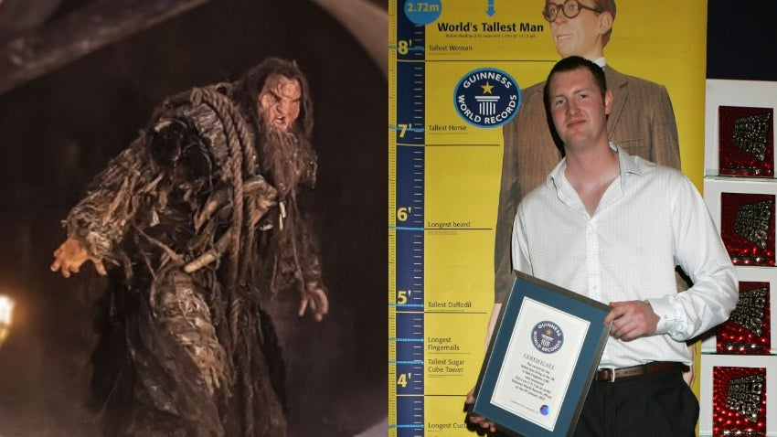 Game Of Thrones Actor And Britain's Tallest Man Neil Fingleton Dies At 36