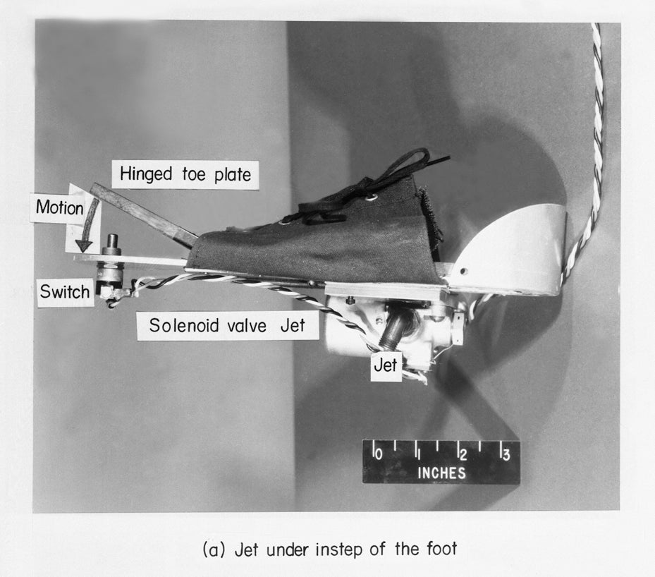 NASA Tried (And Failed) To Build Jet Shoes in the 1960s
