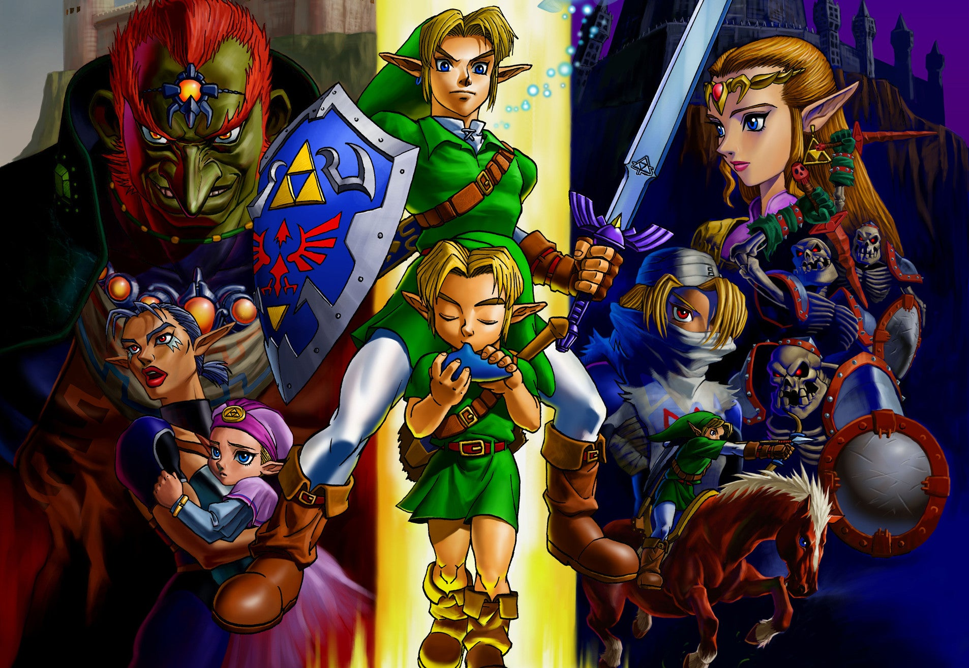 World Record For Beating Ocarina Of Time Keeps Getting Broken