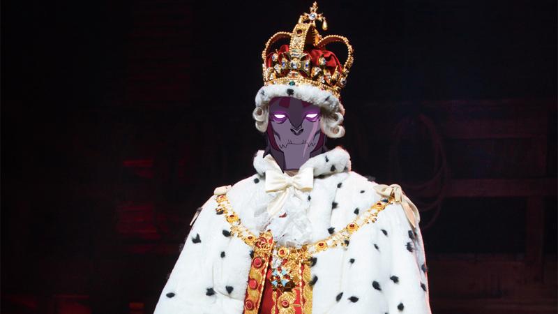 Listen To Voltron's Emperor Zarkon Sing The Best Hamilton Song