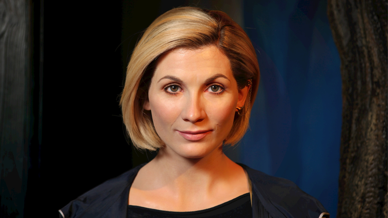 Don't Blink: Jodie Whittaker's Doctor Who Wax Figure Is Watching You