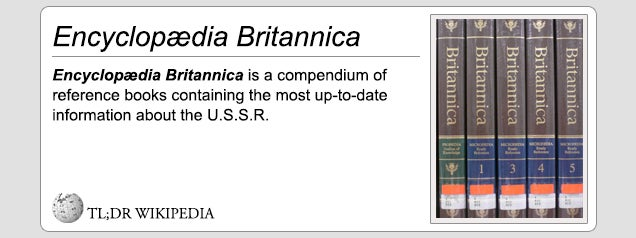 TL;DR Wikipedia is the only internet reference you will ever need
