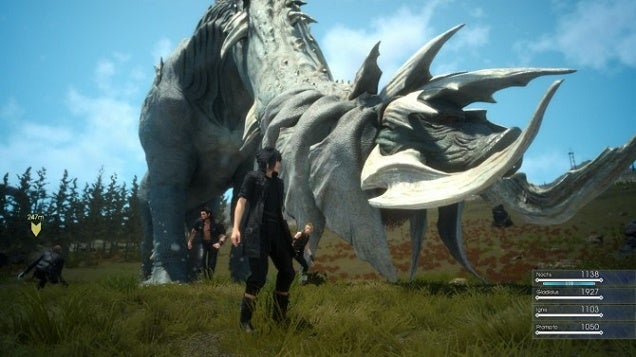 The Final Fantasy XV Demo Just Got A Gigantic New Boss