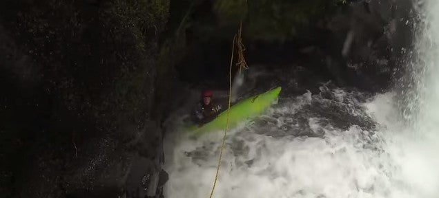 This rescue of kayakers trapped in a cave freaks the hell out of me