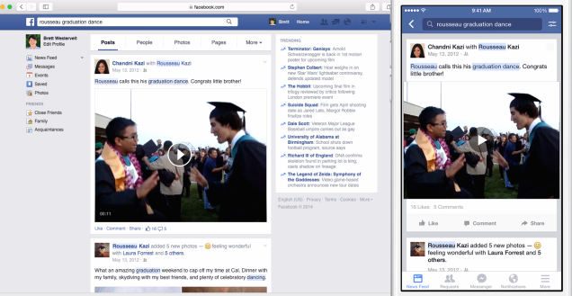 Facebook's Graph Search Makes it Easy to Find Posts You've Seen Before