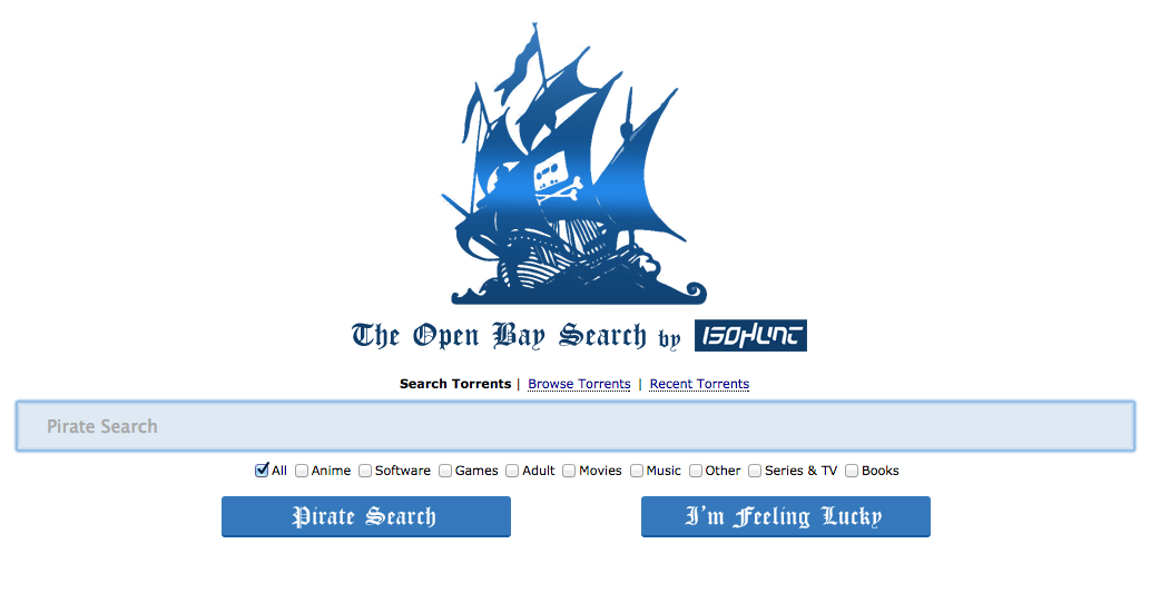 There Are Gonna Be 9280928 Pirate Bays Because Anyone Can Make a New One