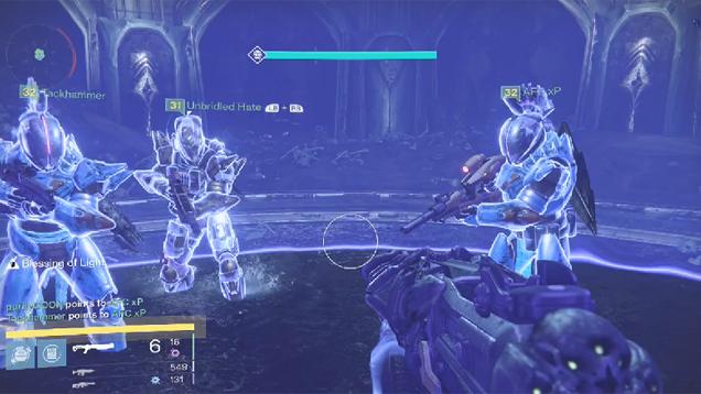 Team Beats Destiny's Toughest Raid Without Using Guns