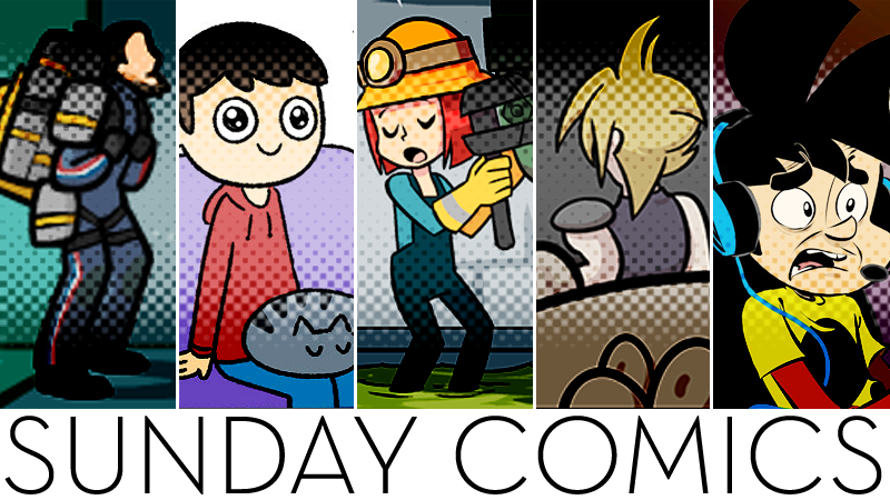 Sunday Comics: Sign Me Up