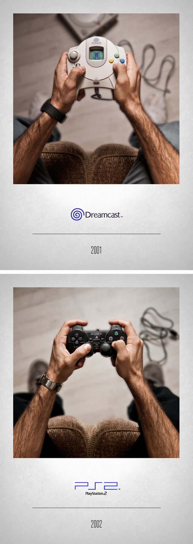 The evolution of video game controllers in 16 cool photos