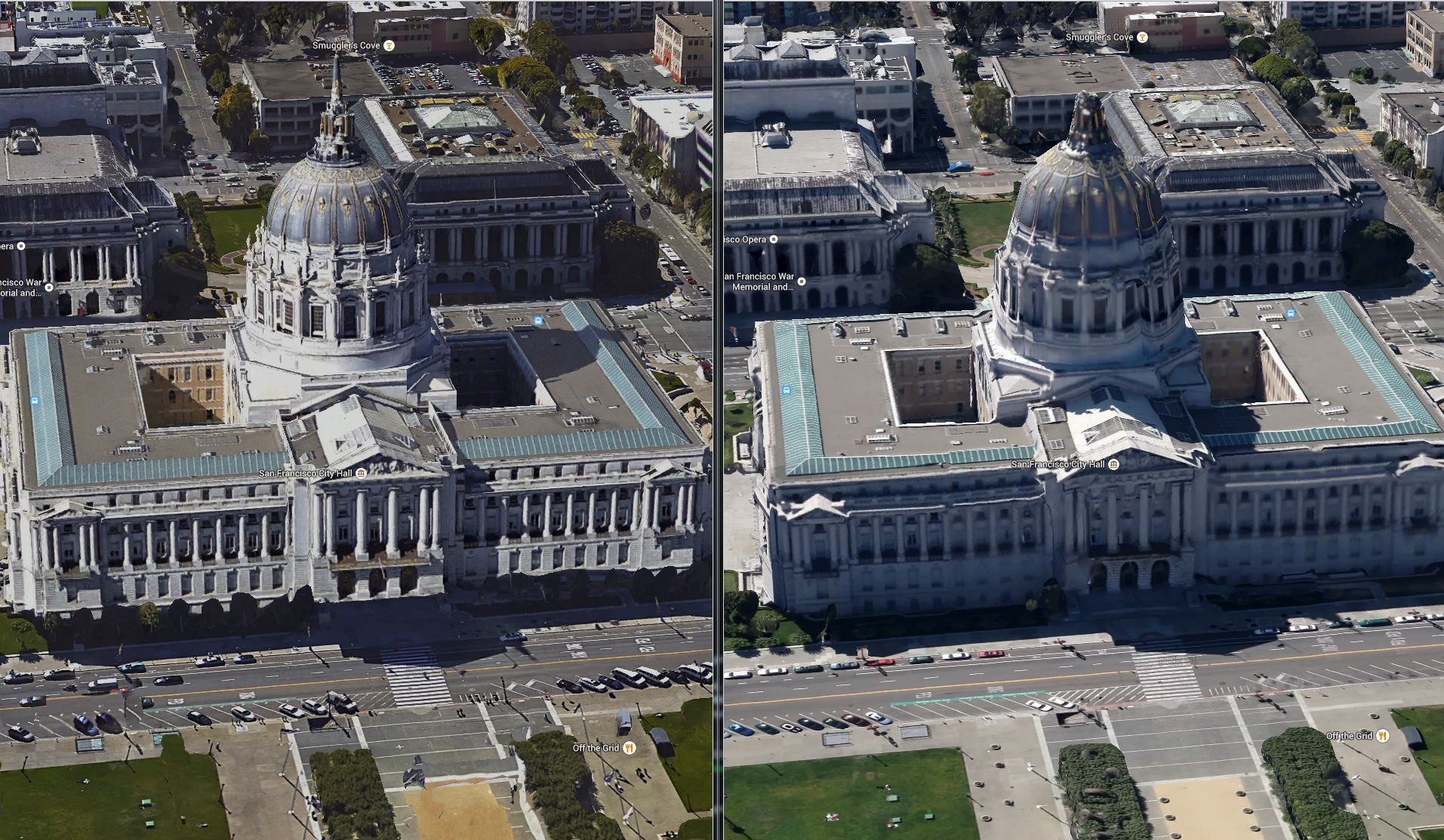 Google Earths New Satellite Imagery Is So Much Better Gizmodo - Google earth satellite map