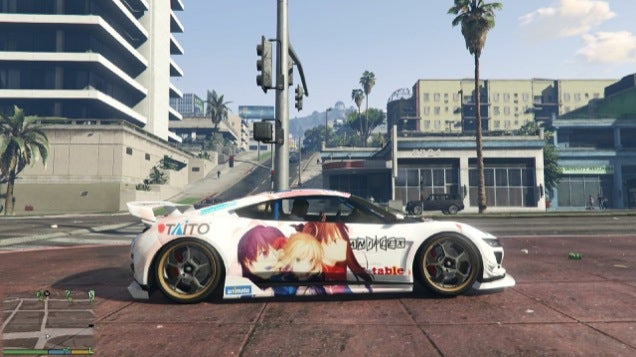 Grand Theft Auto V Characters Modded Into Anime Nerds